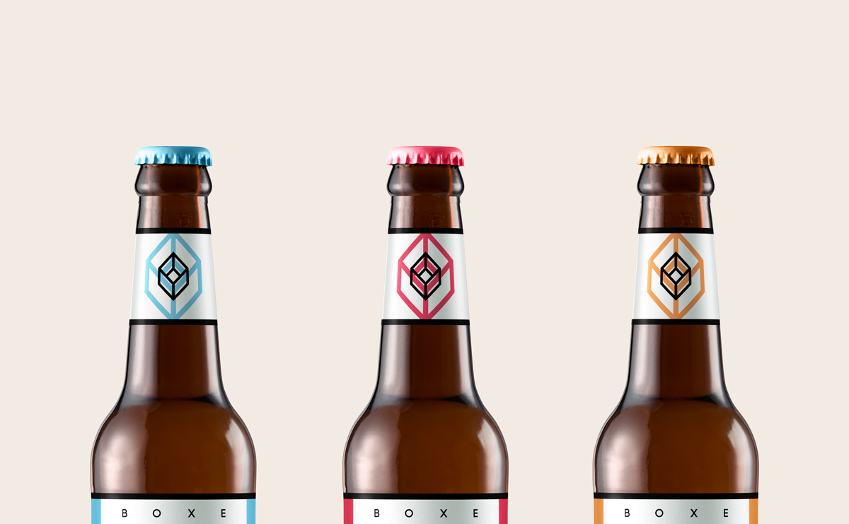 Boxe Beer / Identity, Branding & Packaging
