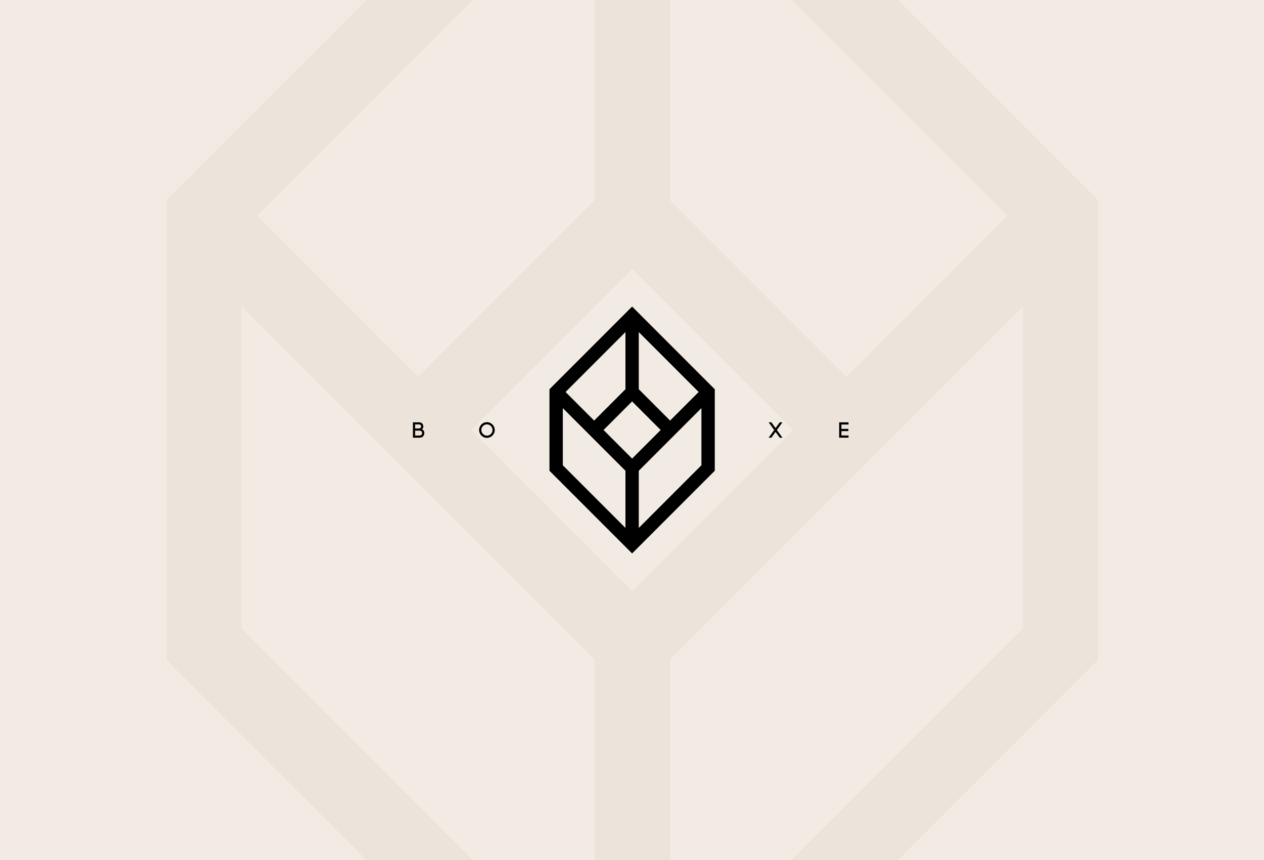 Boxe Beer logo and branding design.