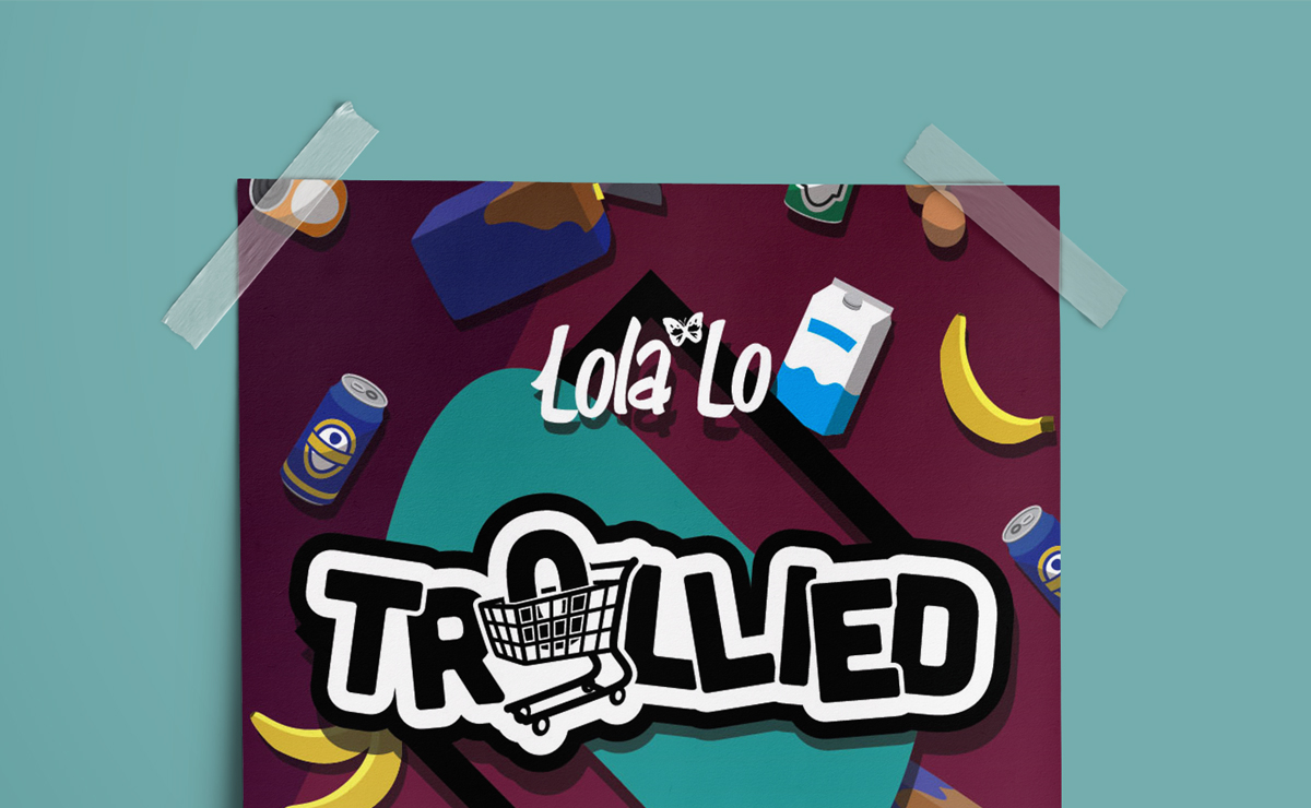 Trollied / Logo Design, Artwork, Identity & Branding